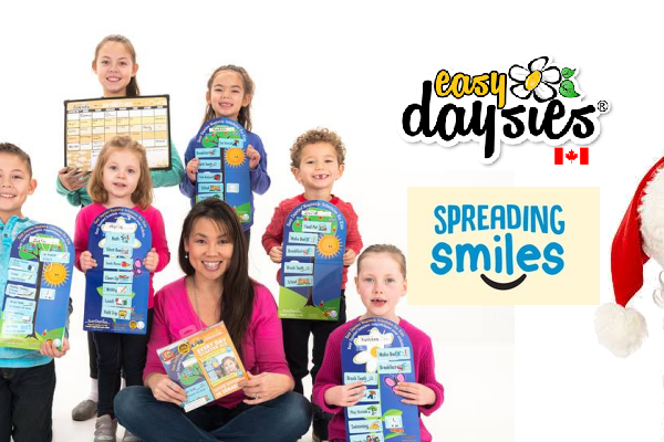 Christmas Kindness Countdown- Easy Daysies Spreading Smiles