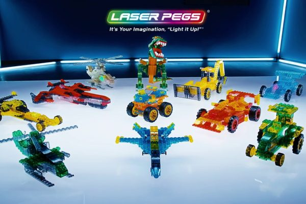 Laser Pegs Construction Sets