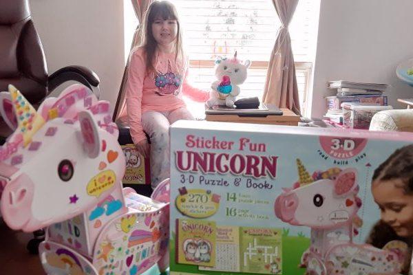 Unicorn 3-D Puzzle