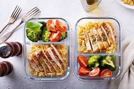 Prepare healthy meals in advance