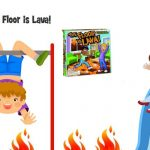 Get outside with The Floor is Lava