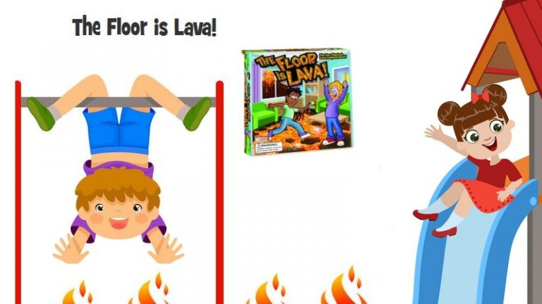 The Floor is Lava- Interactive Board Game for Kids and Adults