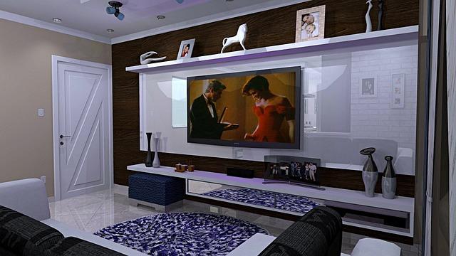 home entertainment center