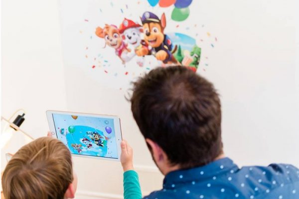 Wall Stories – An Innovative Line of Interactive Wall Decals Featuring AR Technology