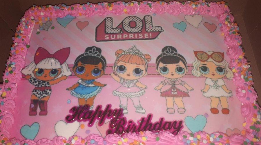 LOL Surprise Birthday Party ideas