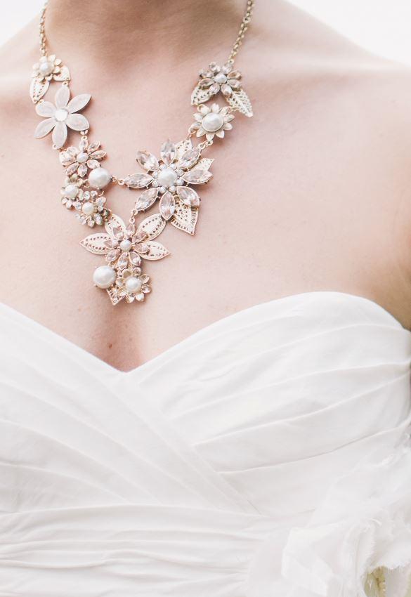 Finish Your Wedding Style with Feminine Jewelry