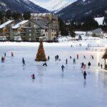 Holiday resort Christmas